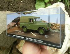007 JAMES BOND ARMY Land Rover Series III 1:43 BOXED CAR MODEL Living Daylights