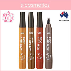 [ETUDE HOUSE] Tint My 4-Tip Brow 2g Eye Brows Eyebrow Pen Dark Gray Brown