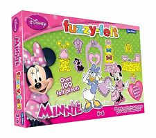 DISNEY JUNIOR Fuzzy-Felt Minnie Mouse Bow-Lucas Set giocattolo per bambini da John Adams