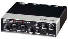 Steinberg Ur22 MKII USB Audio Interface W/ Cubase AI Studio Monitors Head