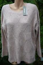 SUSSAN Jumper BLOSSOM PINK Rose Gold Fleck SIZE L Side Zips NEW RRP$99.95 L/S