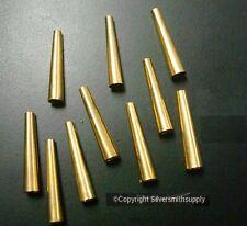Brass Cones Metal Native American Craft Jewelry Supplies Regalia Finding FPS132