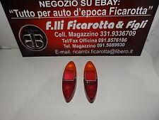 FIAT 1100 T FURGONE - TRASPARENTI FANALI POSTERIORI DX E SX ORIGINALI