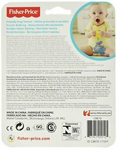 Fisher-Price Friendly Frog Teether CBK76