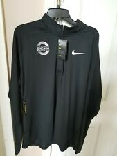Nike Dry Men 1/2 Zip Running Top Black Size Xl 2018 Chicago Marathon New $75