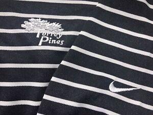 Men's Nike Golf Dri Fit S/S Polo/Golf Shirt Size 2XL (XXL) Poly - Torrey Pines
