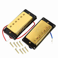 Gold Humbucker Pickup Set for Guitar Parts Replacement
