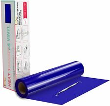 Royal Blue Htv Heat Transfer Vinyl Roll Heat Press For T Shirt 12in X 20feet