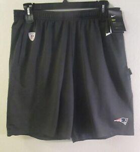 NWT Nike New England Patriots Mens Sideline Performance Shorts XL Charcoal $45