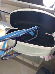 Dolce And Gabbana Blue Frames