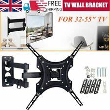 TV Wall Bracket Mount Tilt & Swivel for 32 37 40 42 43 55 50 Inch Monitor LCD UK