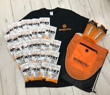 Efectiv™ 30 x Chocolate Whey Protein + T-Shirt + Bag + Shaker (Bundle 3)