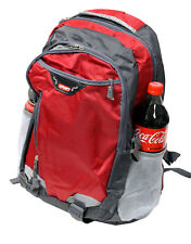 """RED 18"""" SCHOOL BAG BACKPACK COLLEGE LAPTOP SPORTS HIKING CAMPING TRAVEL CARRY-ON"""