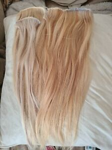 Russian Mongolian WeftWeave Hair extensions BLONDE HIGHLIGHTS
