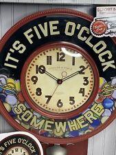 Sterling & Noble Bottle Cap Wall Clock