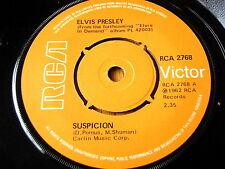 "Elvis Presley-sospecha de vinilo de 7"""