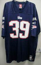NEW THROWBACK LAURENCE MARONEY #39 NEW ENGLAND PATRIOTS NFL JERSEY XL REEBOK
