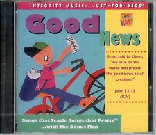 Good News - Rob Evans,the Donut Man - Kid's Music CD