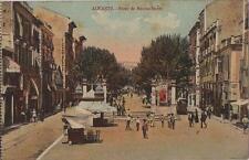 Tarjeta Postal. Alicante. Paseo de Mendez–Nuñez.  Reverso = Bazar Arca de Noé,