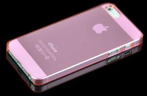 COVER  PER IPHONE 5-5S FLUO ULTRA SOTTILE ULTRA THIN 0,3 MM
