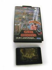 GAIN GROUND GAME(cartridge + cover ), used working condition