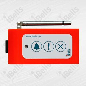 Drahtloser Rufknopf APE830-O Orange (Pflege-, Praxis- Rufsystem) - APE Serie