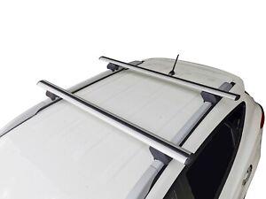 Alloy Roof Rack Cross Bar for Hyundai ix35 2009-15 With Raised Rails 135cm