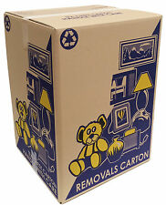 50 HEAVY DUTY TEA CHEST MOVING BOXES $4.80EA CARDBOARD PACKING REMOVALIST CARTON