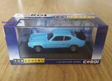 Corgi Vanguards - Ford Capri Mk1 RS3.1 Olympic Blue, Ltd.Ed 2100 - 1/43 NEW
