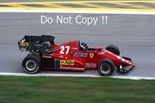 Patrick Tambay Ferrari 126C3 Austrian Grand Prix 1983 Photograph 2