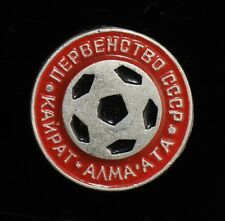 FC Kairat, Vintage USSR Soviet Football Soccer Pin Badge