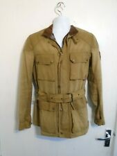 VINTAGE BELSTAFF ROADMASTER WAXED COTTON MOTORCYCLE JACKET SIZE IT44 UK S