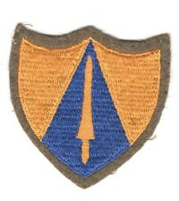 Army Patch: 65th Cavalry Division - embroidered on felt, light blue