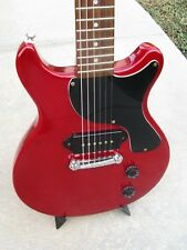 Epiphone by Gibson Les Paul Junior Double Cutaway Cut DC P90 Red 1997 Grovers