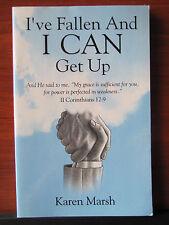 I've Fallen and I Can Get Up by Karen Marsh 2002 PB Christian spiritual