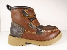 OshKosh B'Gosh Brown Leather Boots Size 8M (Toddler)