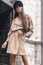 Zara Oversized Trench Coat Beige Size M.Please Read Description.