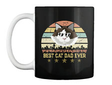 Vintage Best Cat Dad Ever Ragdoll Gift Coffee Mug