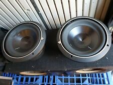 New listing Rockford P3D4-10 Punch P3 4-Ohm 10-Inch 500w sub-woofer x 2