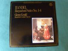 Handel Harpsichord Suites Nos. 1-4 / Glenn Gould LP CBS Masterworks Mp 39128