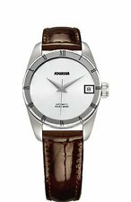 Jowissa Women's J4.062.M Monte Carlo Swiss Automatic Brown Patent Leather Watch