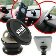 KFZ Halterung für Apple iPhone X XS Max XR 8 8+ 7 6 6S 5 SE Auto Halter Magnet