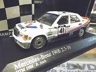 MERCEDES BENZ 190 E 2.3-16V DTM 1988 Asch Valvoline #41 Minichamps S-Preis 1:43