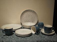 """VINTAGE KELSTON CERAMICS NEW ZEALAND """"SPRINGTIME"""" D633 DINNER SET FOR 4"""