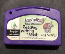 LeapPad Plus Writing- Reading, Writing & Math & More Cartridge Pre K - 2nd Grade