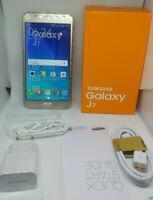 """Samsung Galaxy J7 SM-J700F 5.5"""" 16 Go Dual Sim Octa Core 13.0MP 4G NOIR OR BLANC"""