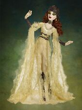 Tonner Wilde Evangeline Ghastly ~ Gothic Lace Parnilla Gold Dress & Tights ONLY
