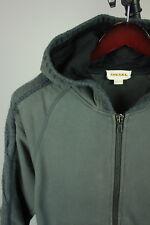 DIESEL Men's SMALL Warm Wool Blend Hooded & Zipped Jumper / Hoodie RCS9322