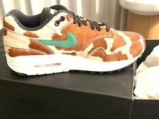 Nike x Atmos Air Max 1 DLX ' Animal Pack 3.0 ' Giraffe Cow US 5