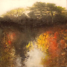 "ISABELLE AMANTE ORIGINAL ""Without Darkness, there is no Light"" Forest PAINTING"
